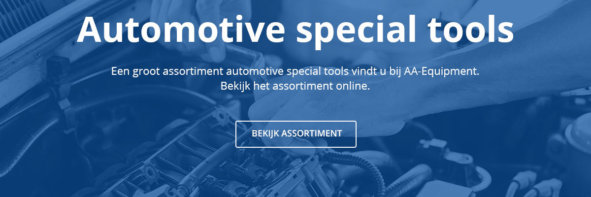 Automotive special tools banner website