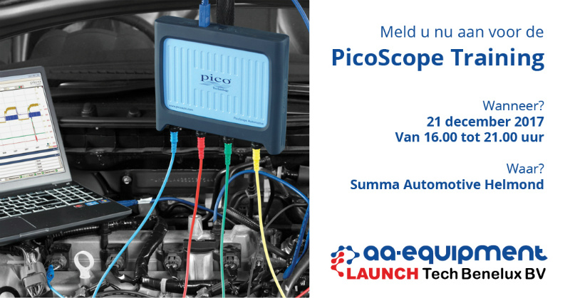 aa equipment picoscope training pico nieuws