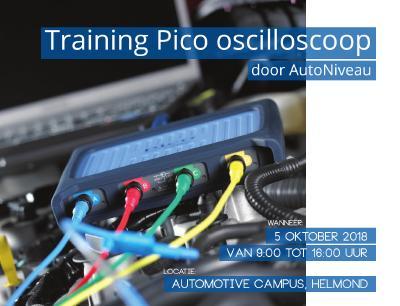 Training Pico oscilloscoop op 5 oktober 2018 door AutoNiveau