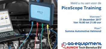 Training Pico oscilloscoop op 5 oktober 2018 door AutoNiveau